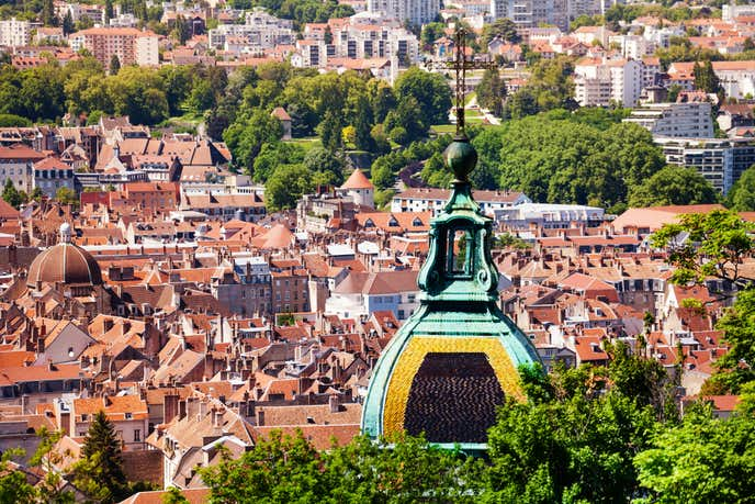 フランスでおすすめの観光地はブザンソン