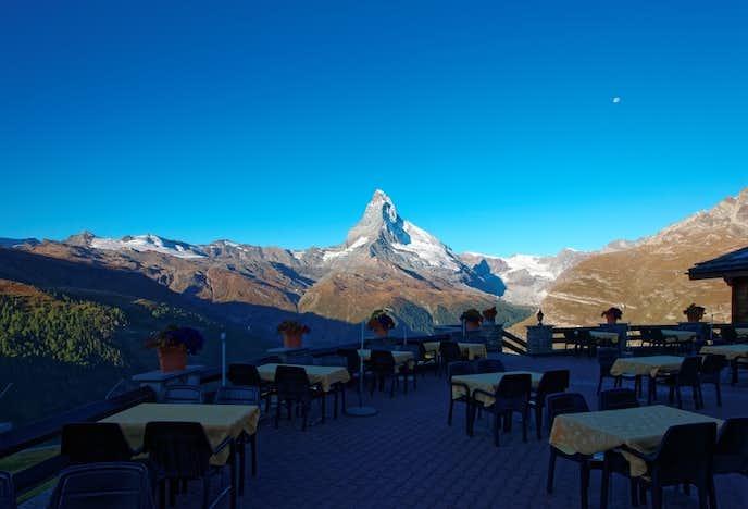 スイスでおすすめの観光地はスネガ展望台