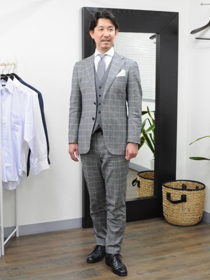 40代男性のお見合いの服装画像5