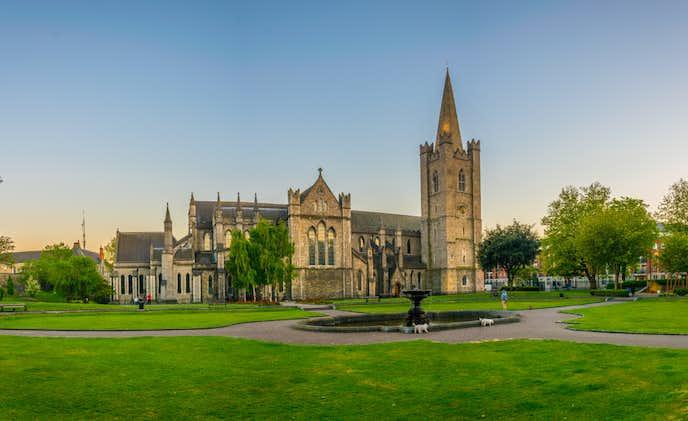 アイルランドでおすすめの観光地はセントパトリック大聖堂