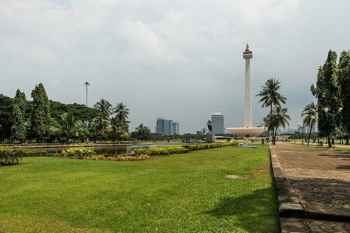 インドネシアでおすすめの観光地はムルデカ広場