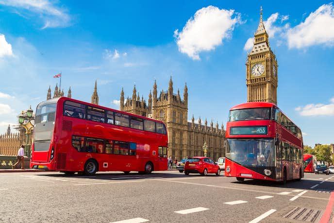 イギリスでおすすめの観光地はロンドン