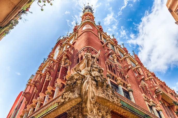 バルセロナでおすすめの観光地はカタルーニャ音楽堂