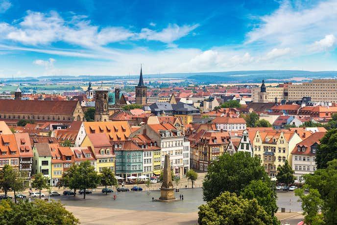 ドイツでおすすめの観光地はエアフルト