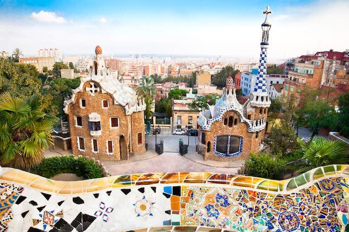 バルセロナでおすすめの観光地はグエル公園