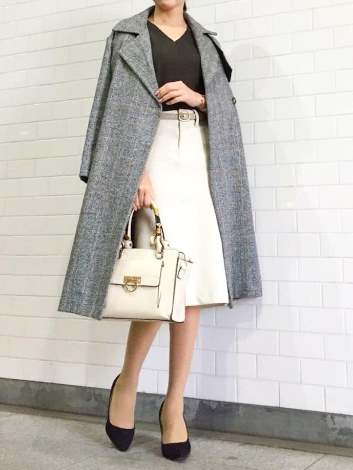 40代女性の冬のお見合いの服装1