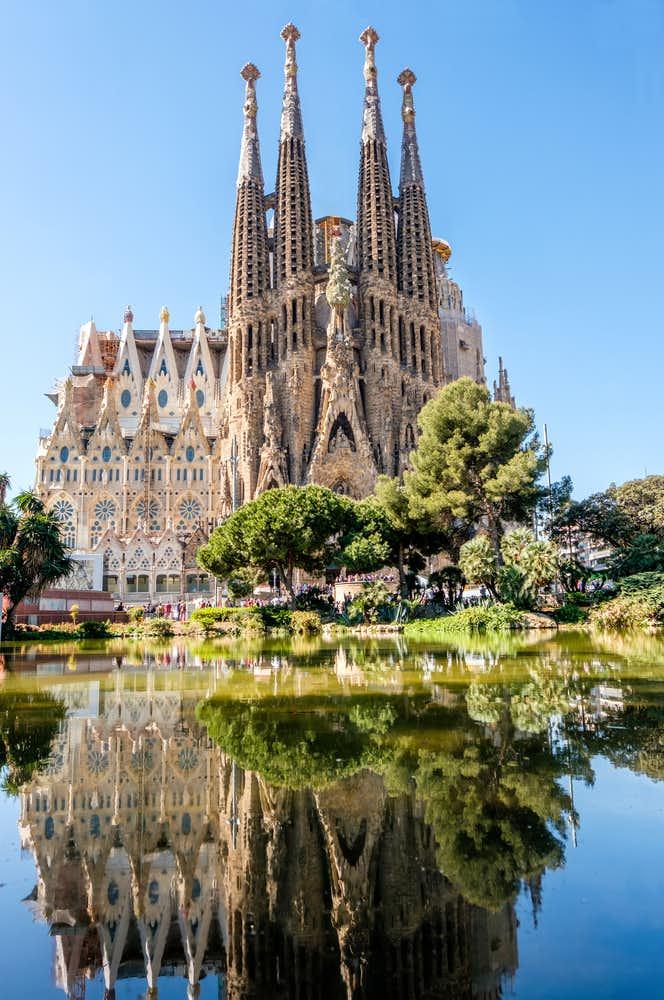 バルセロナでおすすめの観光地はサグラダファミリア