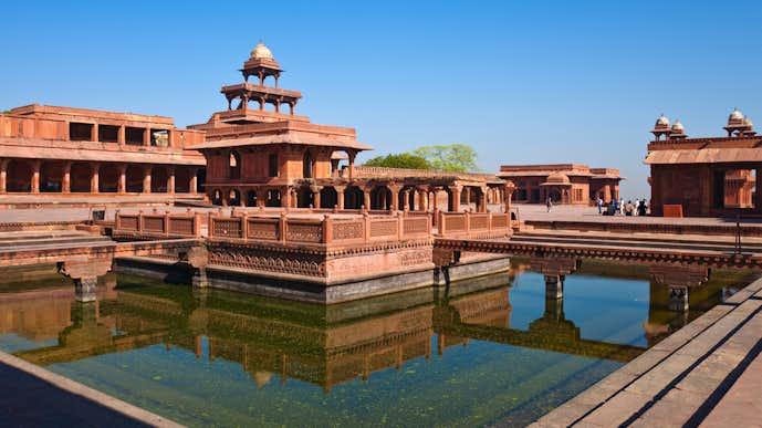 インドでおすすめの観光地はファテープル・シークリー
