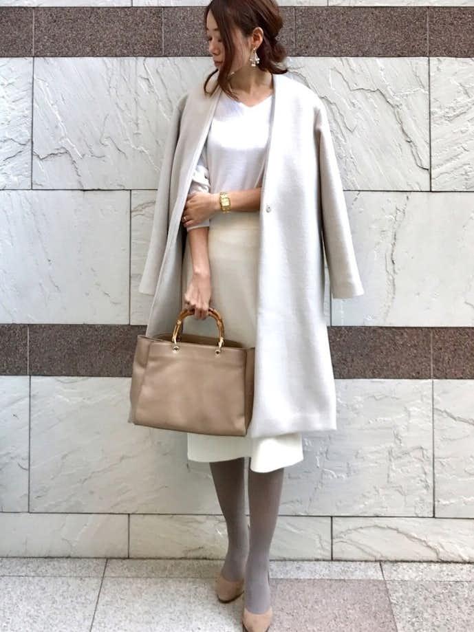 30代女性の冬のお見合いの服装2