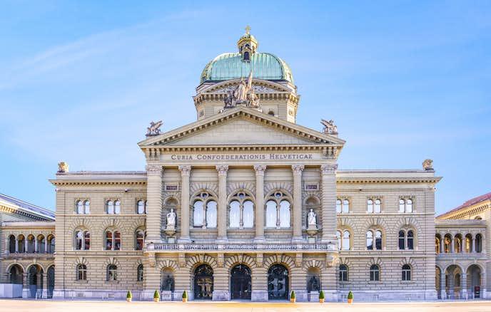 スイスでおすすめの観光地はブンデスハウス(連邦議事堂)