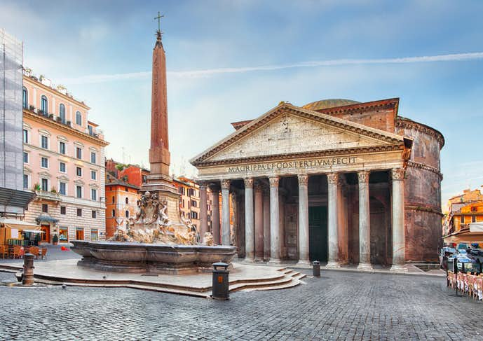 ローマでおすすめの観光地はパンテオン