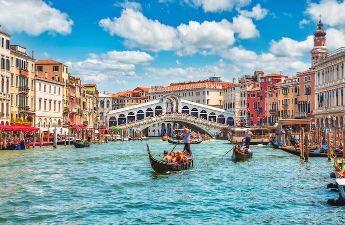 イタリアでおすすめの観光地はヴェネツィア