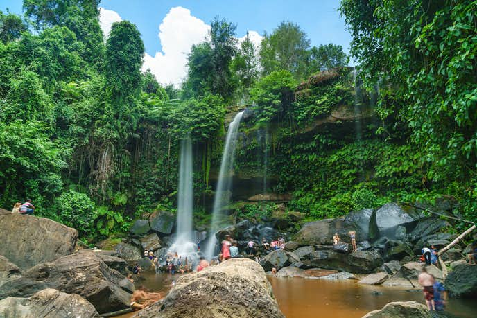 カンボジアでおすすめの観光地はプノンクーレン