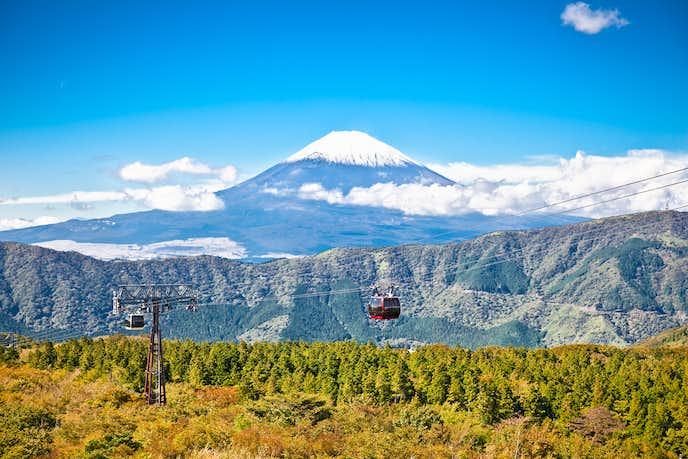 箱根でおすすめの観光地は箱根ロープウェイ