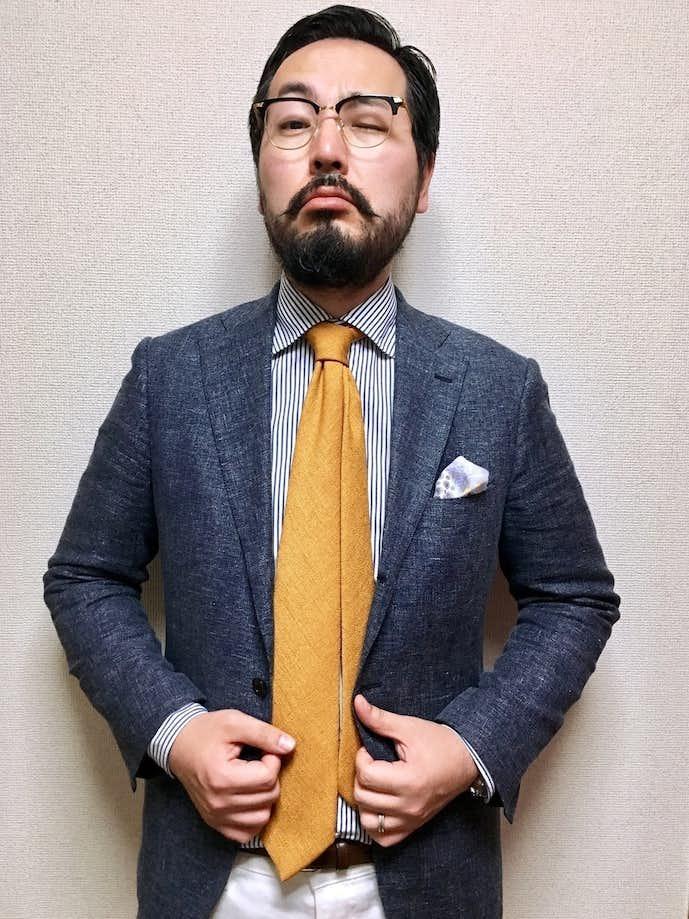 30代男性のお見合いの服装画像3