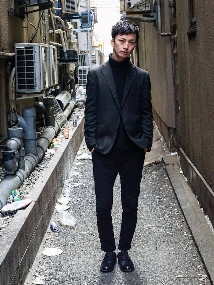 20代男性のお見合いの服装画像3