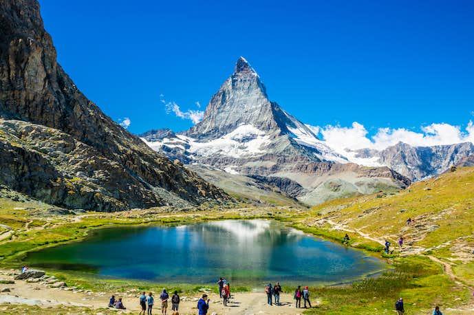 スイスでおすすめの観光地はマッターホルン