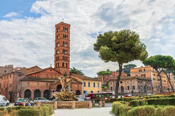 ローマでおすすめの観光地はサンタ・マリア・イン・コスメディン教会