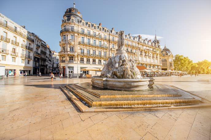 フランスでおすすめの観光地はモンペリエ