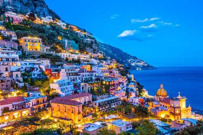 イタリアでおすすめの観光地はアマルフィ