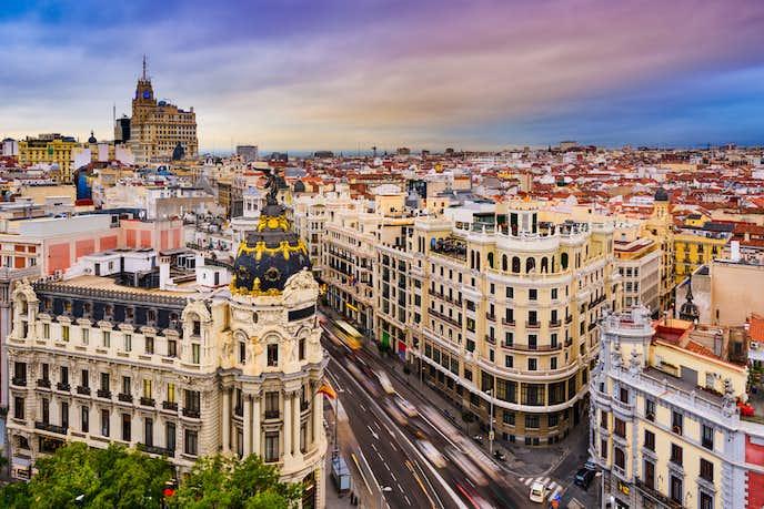スペインでおすすめの観光地はマドリッド