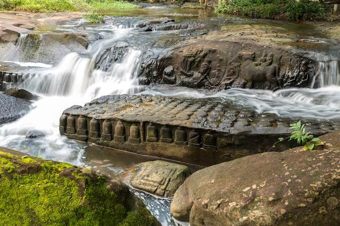 カンボジアでおすすめの観光地はクバール・スピアン
