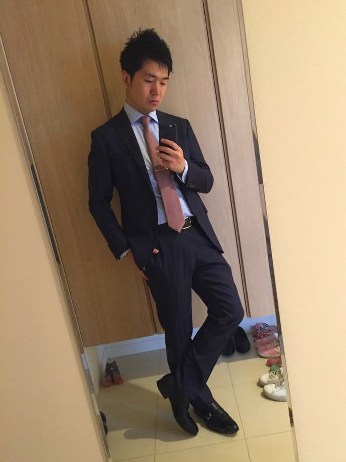 30代男性のお見合いの服装画像2