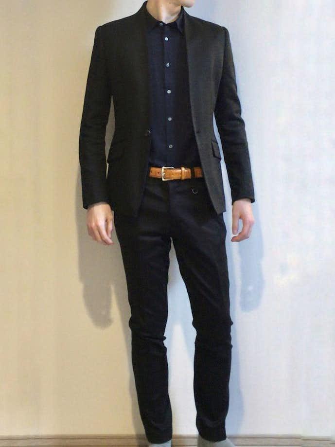 カジュアルな男性のお見合いの服装2