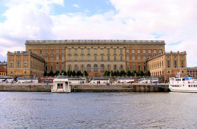 ストックホルムでおすすめの観光地はストックホルム王宮