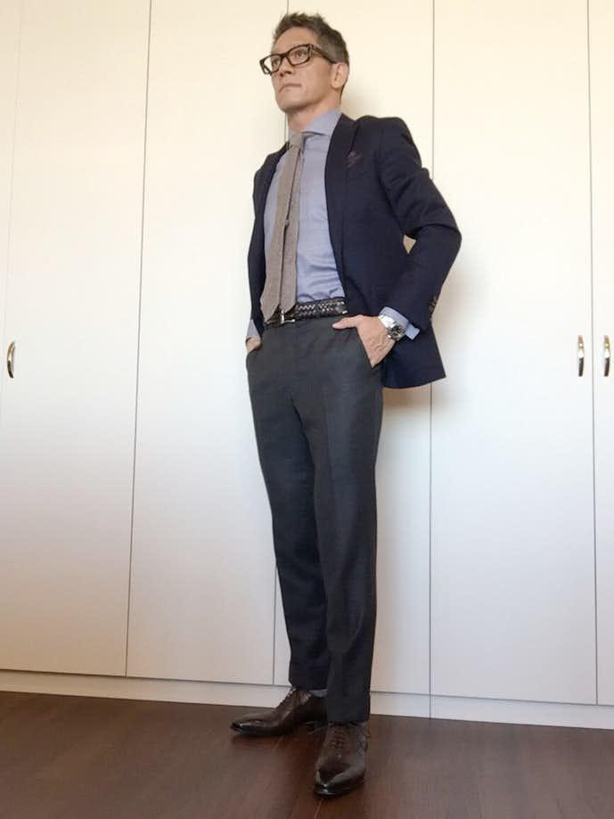 40代男性のお見合いの服装画像2
