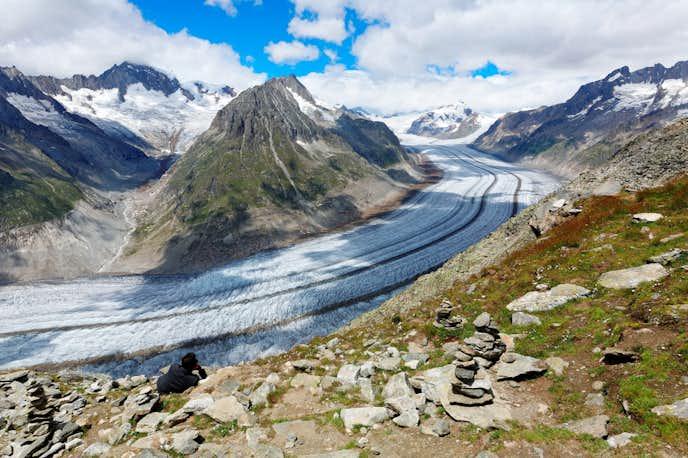 スイスでおすすめの観光地はエッギスホルン展望台