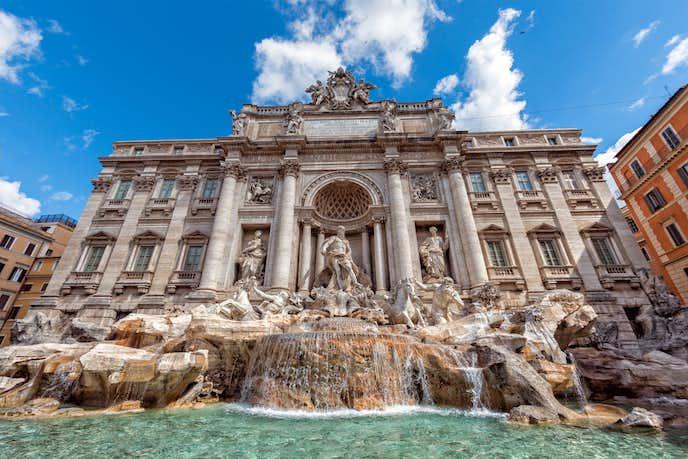 ローマでおすすめの観光地はトレヴィの泉