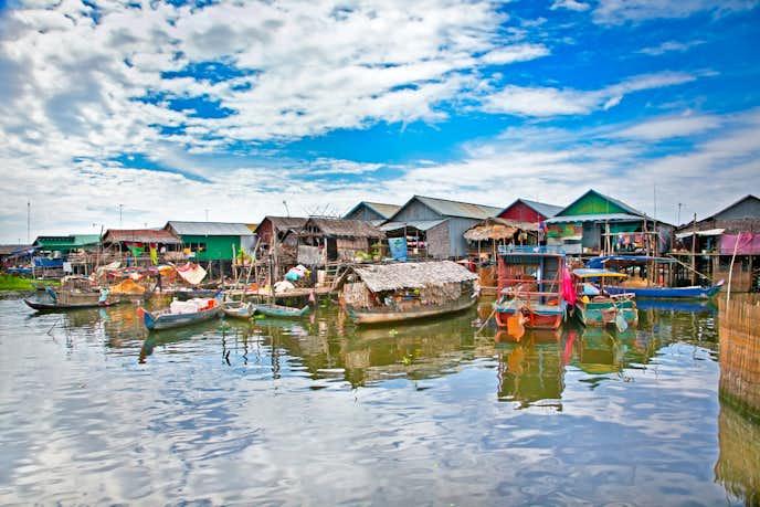 カンボジアでおすすめの観光地はトンレサップ湖