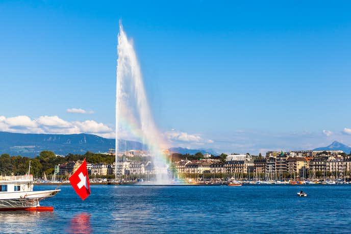 スイスでおすすめの観光地はレマン湖
