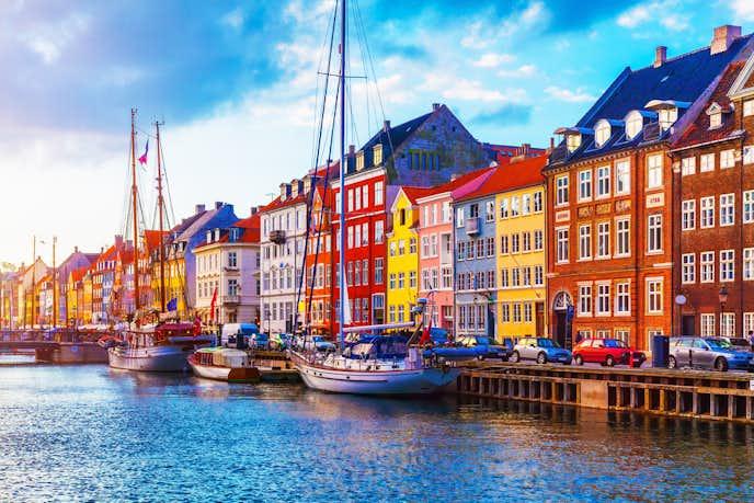 コペンハーゲンでおすすめの観光地はニューハウン
