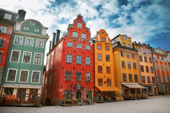 スウェーデンでおすすめの観光地はガムラスタン旧市街