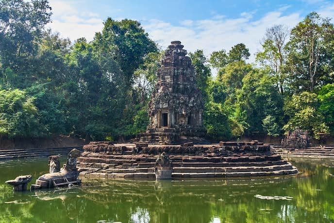 カンボジアでおすすめの観光地はニャック・ポアン
