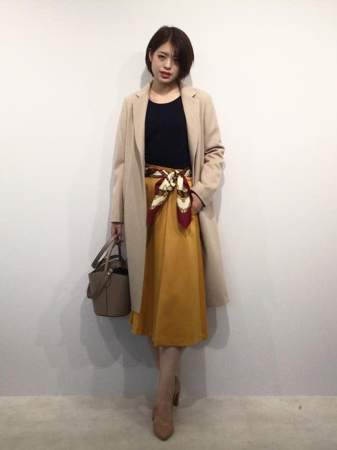 40代女性の冬のお見合いの服装2