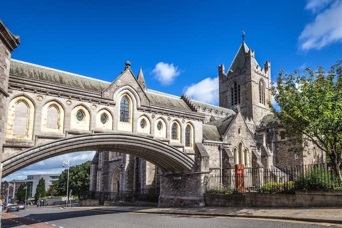 アイルランドでおすすめの観光地はクライストチャーチ大聖堂