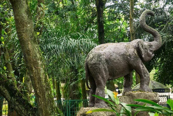 インドネシアでおすすめの観光地はラグナン動物園