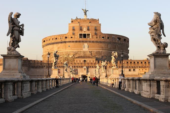 ローマでおすすめの観光地はサンタンジェロ城