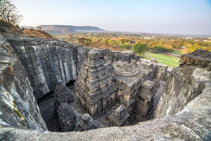 インドでおすすめの観光地はエローラ石窟群