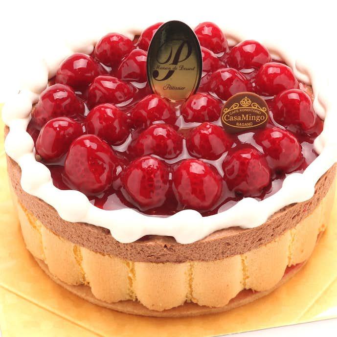 1万円のプレゼントは木苺のケーキ