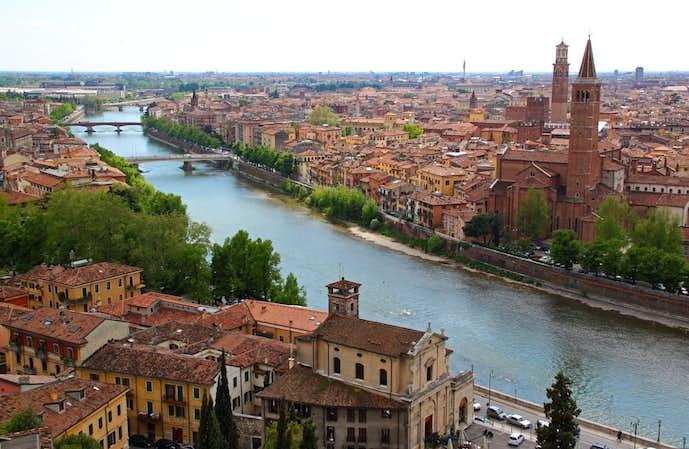 イタリアでおすすめの観光地はヴェローナ