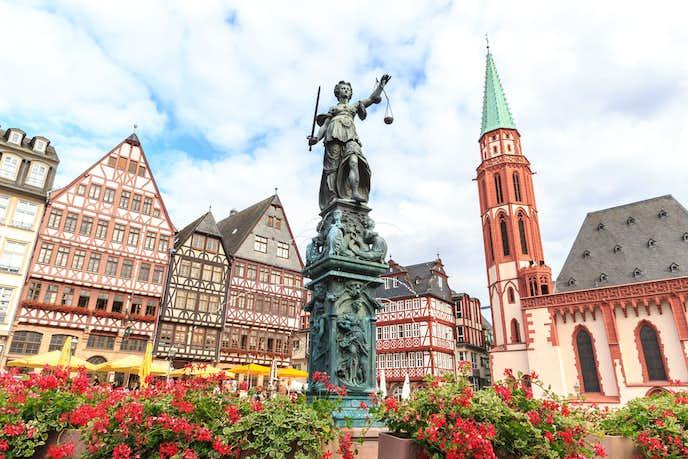 ドイツでおすすめの観光地はフランクフルト