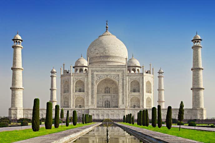 インドでおすすめの観光地はタージマハル