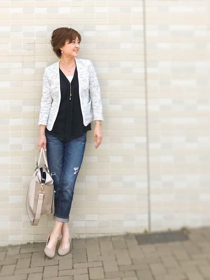 40代女性におすすめのお見合い服装コーデ1