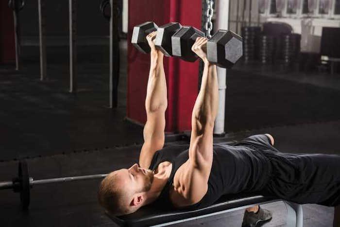 上腕三頭筋のダンベルメニュー8選|腕を太くする効果的な筋トレ種目とは | Smartlog