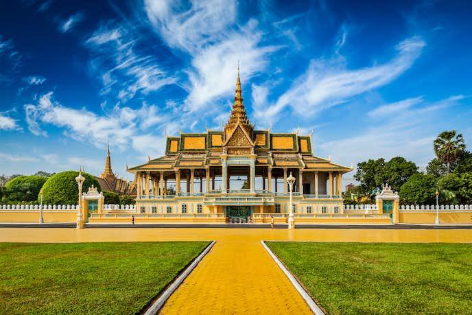 カンボジアでおすすめの観光地はカンボジア王宮