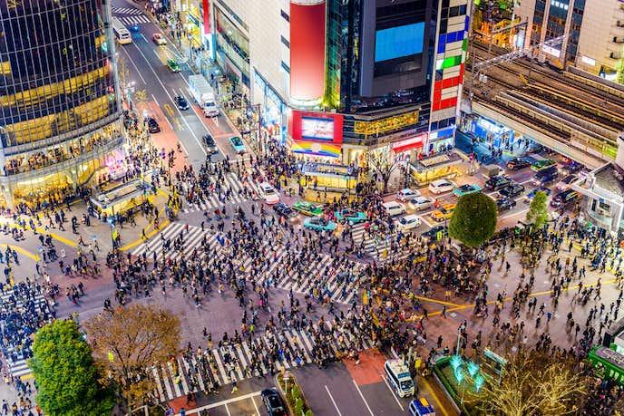 渋谷でおすすめの観光地は渋谷駅前 スクランブル交差点